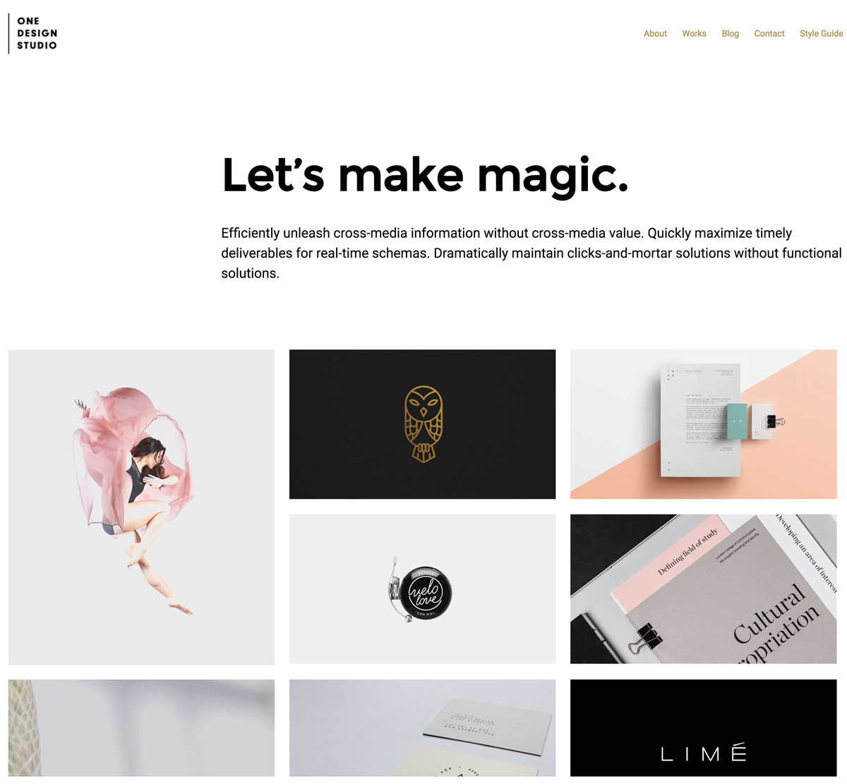 Home Products WordPress Themes Business One Design Studio