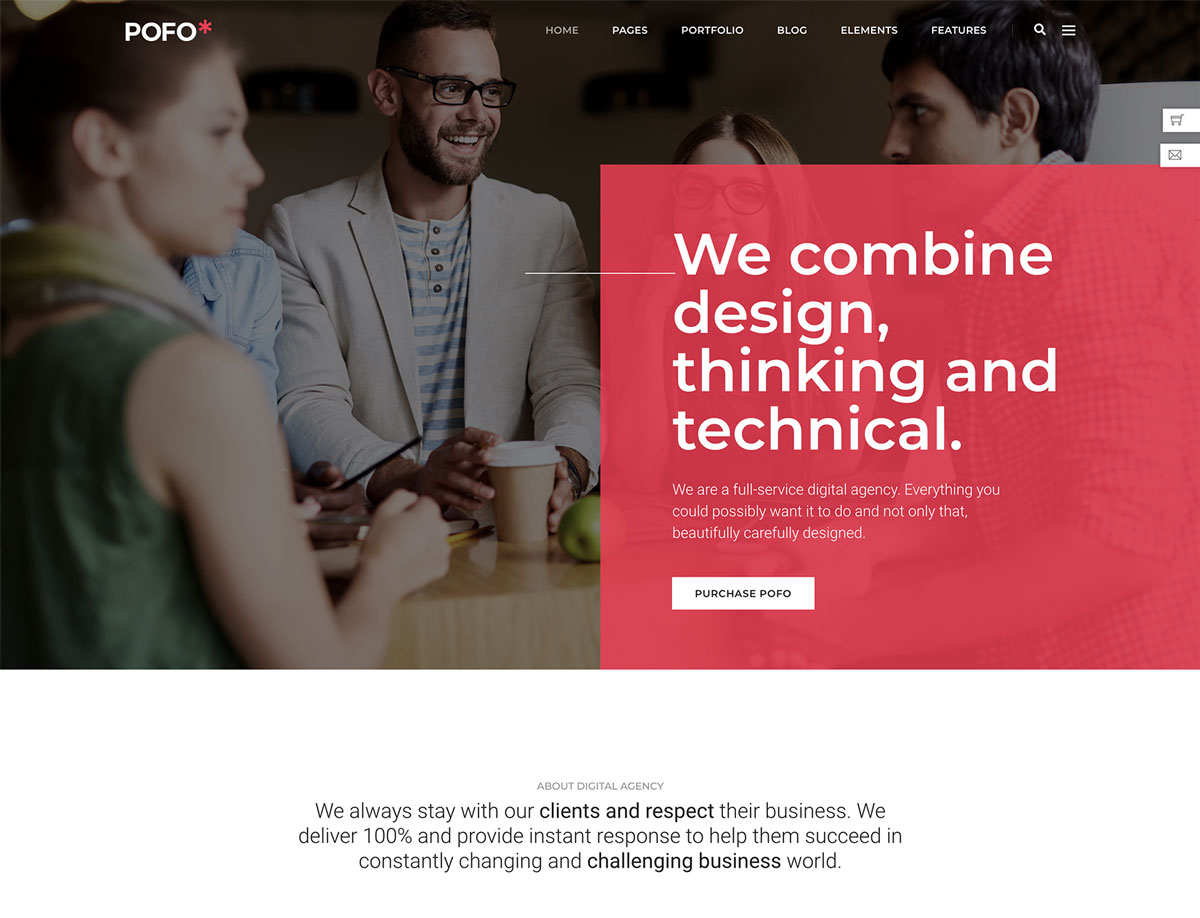 Pofo - Multi-purpose Template