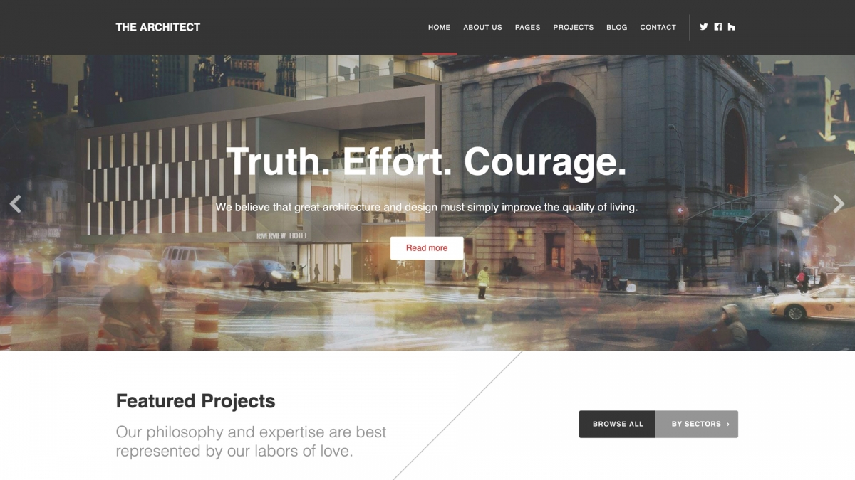 Best WordPress Templates 2019 15+ Best WordPress Themes for Architects in 2019   WPlook Themes
