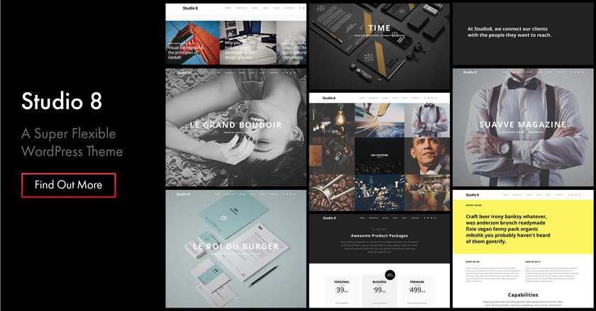 Studio 8 WordPress Theme